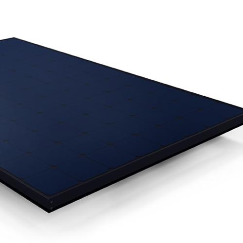 SunPower sleek black solar panel