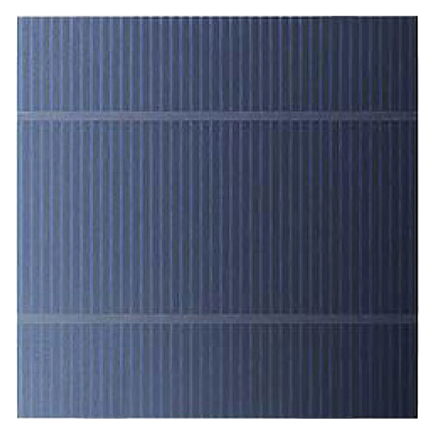 Conventional solar cell close up