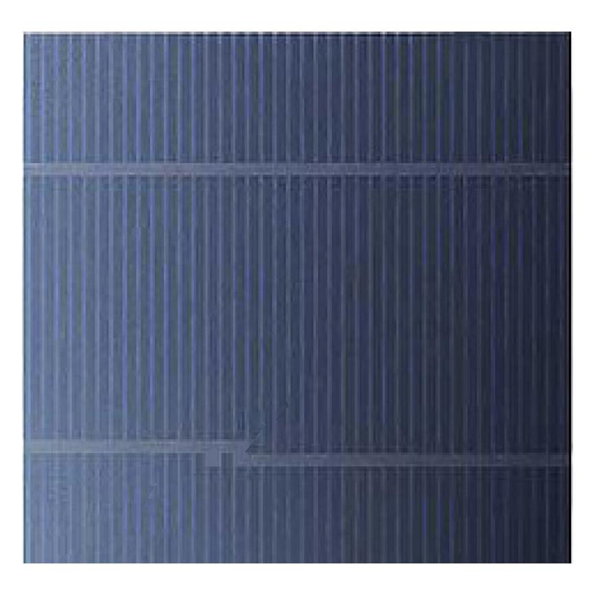 broken conventional solar cell