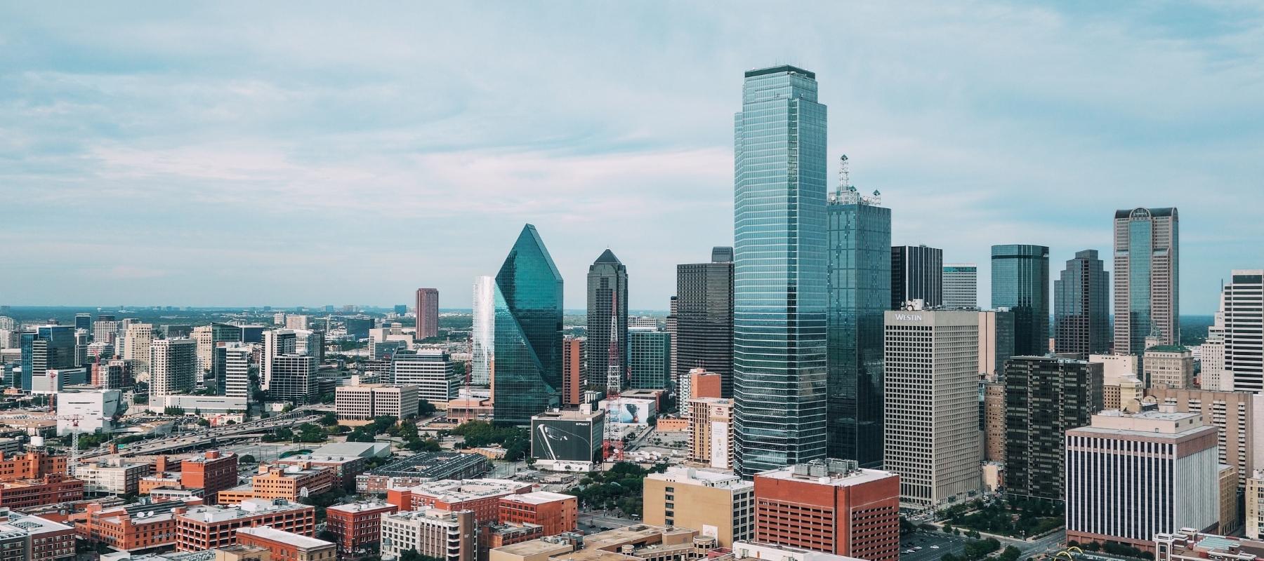 Get Solarize image of Dallas Texas skyline