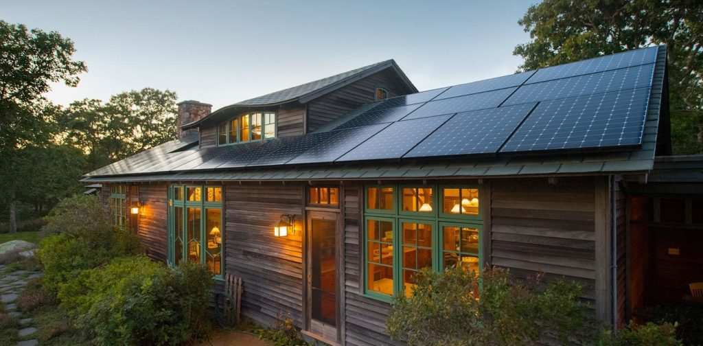 Rustic cabin with Solar Array power