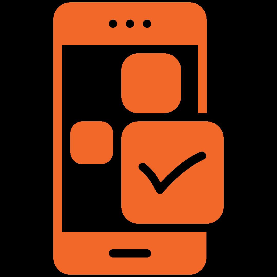 Smart phone Solar monitoring icon