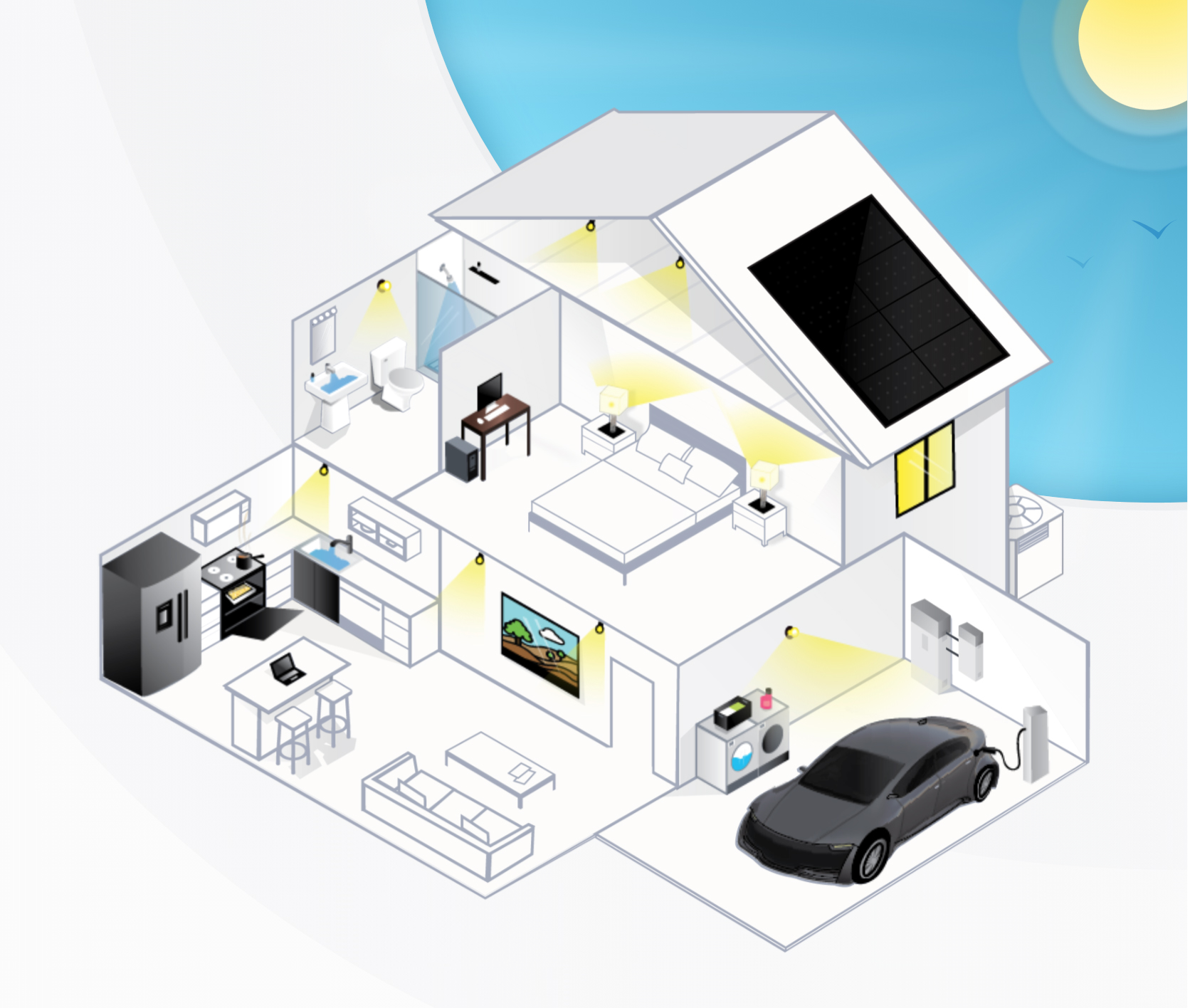 Get Solarize infographic demonstrating the benefits of solar energy